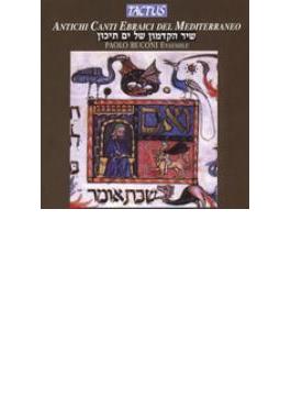 地中海の古代ユダヤ人の歌曲集(世界初録音)/パオロ・ブコーニ・アンサンブル