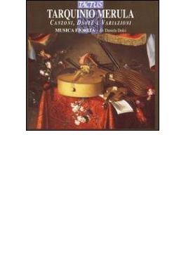 メールラ:カンツォン、舞曲と変奏曲集/ドルチ(指揮)、ムジカ・フィオリタ