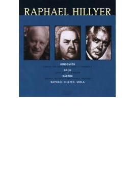 (Viola)sonata For Violin Solo: Hillyer(Va)+hindemith: Op.11-5, J.s.bach
