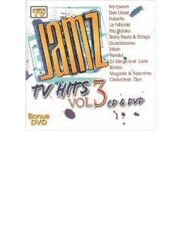 Jamz Tv Hits Vol.3 (+dvd)