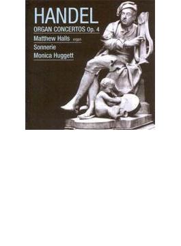 ヘンデル:オルガン協奏曲集Op.4/ホールズ(org)、ハジェット&ソネリー