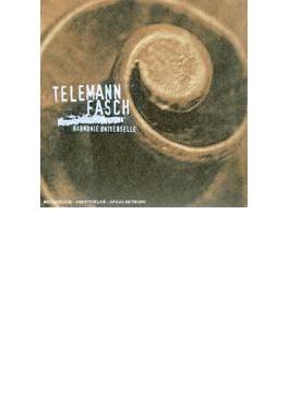 Sonatas & Concertos: Harmonie Universelle +fasch