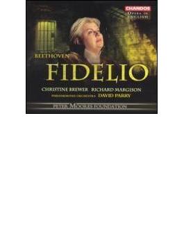 ベートーヴェン:歌劇『フィデリオ』/ブリューワー(s)、パリー(指揮)、フィルハーモニア