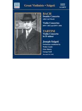 ヨーゼフ・シゲティ/タルティーニ、J.S.バッハ:ヴァイオリン協奏曲 シゲティ、フレッシュ、ゲール、スティードリー、セル、他