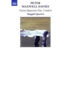 ナクソス四重奏曲第3番、第4番『子供の遊び』 マッジーニ四重奏団