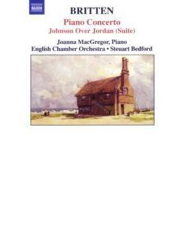 ピアノ協奏曲/ヨルダンを渡ったジョンソン(組曲)/他 マクレガー/ベッドフォード/イギリス室内管弦楽団/ロンドン交響楽団
