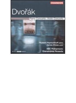 ドヴォルザーク:ピアノ協奏曲、ヴァイオリン協奏曲/ハイルディノフ(p)、エーネス(vn)、ノセダ&BBC