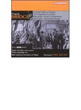 管弦楽作品集第6巻 ヒコックス&BBCウェールズ・ナショナル管、コノリー、ラングリッジ