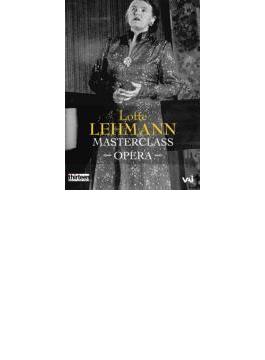 Lotte Lehmann Masterclasses-opera Scenes From Rosenkavalier Figaro