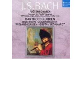 Flute Sonatas: B.kuijken(Fl) W.kuijken(Gamb) Leonhardt(Cemb)