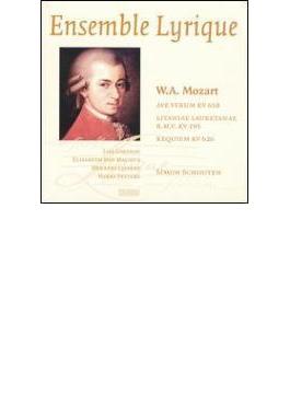 Requiem, Etc: Schouten / Ensemblelyrique Larsson Magnus Lippert Peeters