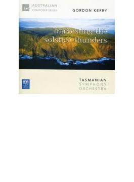 Harvesting The Solstice Thunder, Etc: Porcelijn / Tasmanian So
