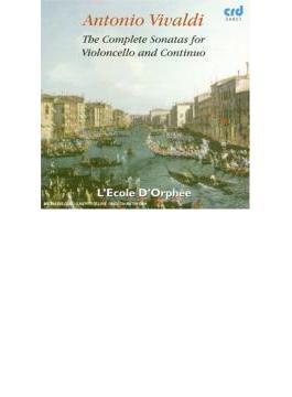 Comp.cello Sonatas: S.sheppard(Vc) L'ecole D'orphee