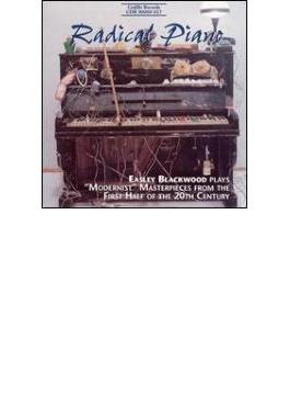 Blackwood Radical Piano-modernist Masterpieces