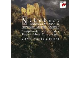 交響曲第4番『悲劇的』、第8番『未完成』 ジュリーニ&バイエルン放送交響楽団
