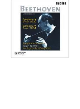 交響曲第2番、第6番『田園』 クーベリック&バイエルン放送響(ライヴ)
