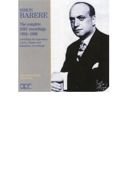 Barere The Complete Hmv Recordings 1934-1936