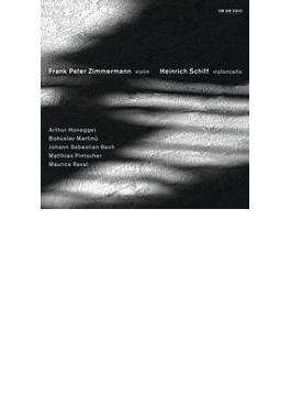 ヴァイオリンとチェロのための作品集 ツィンマーマン(vn)H.シフ(vc)