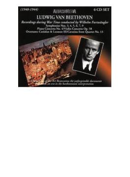 フルトヴェングラーのベートーヴェン~戦時録音集(6CD)