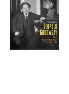 レオポルド・ゴドフスキ全集第2集~ブランズウィック録音集(2CD)