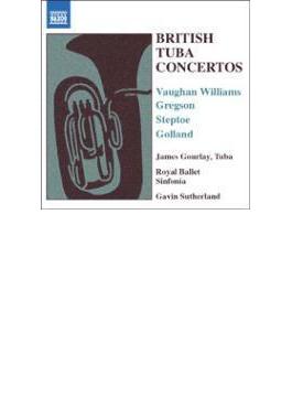 英国テューバ協奏曲集 グーレイ(tb)サザーランド&ロイヤル・バレエ・シンフォニア