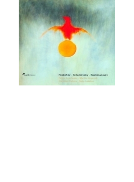 『古典交響曲』2台ピアノ版、ピアノ・ソナタ第7番、他 レスチェンコ、アルゲリッチ(p)、ラカトシュ(vn)、他