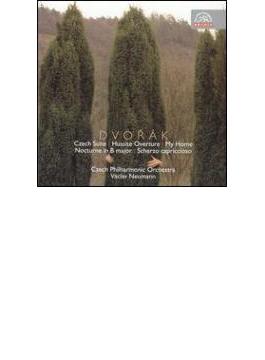 チェコ組曲、フス教徒、わが家、夜想曲、スケルツォ・カプリチオーソ ノイマン&チェコ・フィル