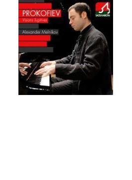 モーツァルト:ピアノ・ソナタ第12番、プロコフィエフ:束の間の幻影、スクリャービン:幻想曲 メルニコフ