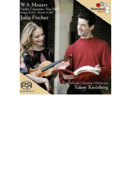 ヴァイオリン協奏曲第3番、第4番 J.フィッシャー、クライツベルク&オランダ室内管
