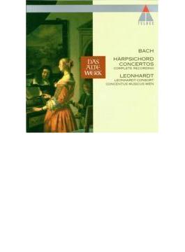 チェンバロ協奏曲集 レオンハルト&レオンハルト・コンソート(3CD)