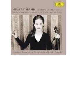 ヴァイオリン協奏曲、ヴォーン・ウィリアムズ:あげひばり ハーン、デイヴィス&ロンドン響