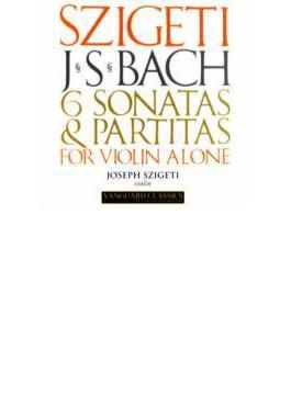 無伴奏ヴァイオリンのためのソナタとパルティータ全曲 シゲティ(2CD)