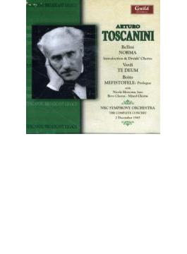 Toscanini Complete Concert, 1945.12.2 Bellini, Verdi, Boito