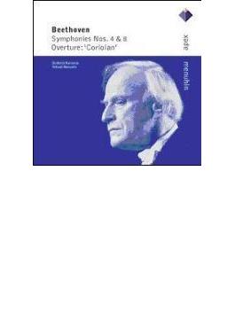 Sym.4, 8: Menuhin / Sinfonia Varsovia