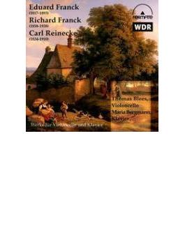 Cello Sonata Op.6: Blees(Vc)bergmann(P) +r.franck, Reinecke: Cello Sonata
