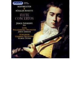 Flute Concertos: Szebenyi(Fl), Etc +hoffmeister: Flute Concerto