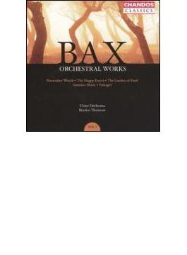 バックス:管弦楽作品集 Vol.3交響詩『11月の森』、『幸せな森』、他/ブライデン・トムソン(指揮)、アルスター管弦楽団