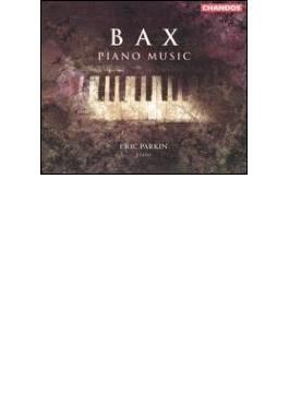 バックス :ピアノ作品集-ピアノ・ソナタ第1番~第4番、子守歌、カントリー・チューン(故郷の調べ)、他/エリック・パーキン(ピアノ)