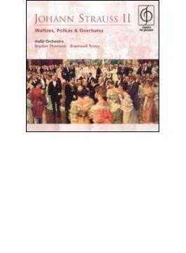 Waltzes, Polkas, Overtures: Thomson / Halle.o, Tovey, Etc
