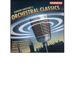 ラングフォード: 管弦楽のための『ファンファーレとセレモニアル・プレリュード』、他/ラモン・ガンバ(指揮)、BBCコンサート・オーケストラ