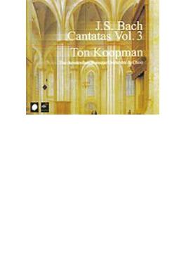 Complete Cantatas Vol.3: Koopman / Amsterdam Baroque.o
