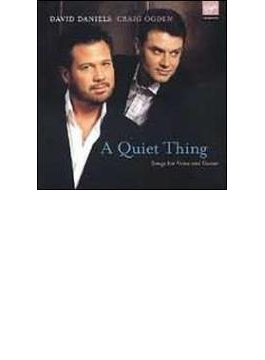 David Daniels(C-t) A Quiet Thing-songs With Guitar