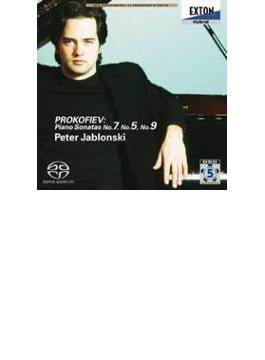 プロコフィエフ:ピアノソナタ第7番、5番、9番  ペーテル・ヤブロンスキ-(ピアノ)