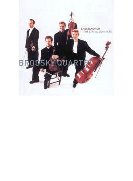 弦楽四重奏曲全集 ブロドスキー四重奏団(6CD)