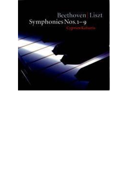 交響曲全集(リスト編曲) カツァリス(ピアノ)(6CD)