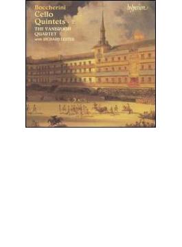 ボッケリーニ:チェロ五重奏曲vol.2/レスター(vc)、ヴァンブーラ・クワルテット