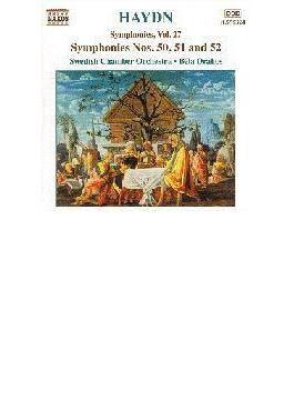 <交響曲全集シリーズ>第50/51/52番 ドラホシュ/スウェーデン室内管弦楽団/オレロス