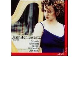 Tailleferre, Hindemith: Harp Sonata, Grandjany, Etc: J.swartz(Hp)