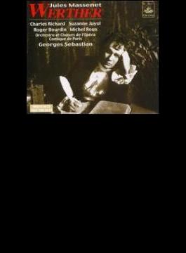 Werther: G.sebastian / Paris Opera Comique.o (1952)