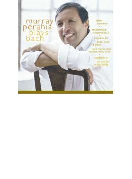 Brandenburg Concerto.5, Tripleconcerto, Italian Concerto: Perahia(P)asmf